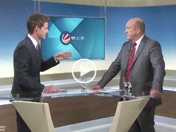SAT1 Interview mit Dirk Pollert